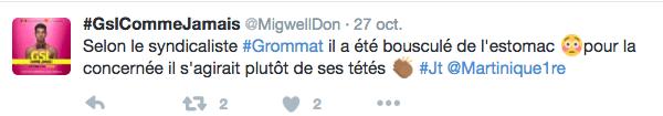 """Commentaire """"tété"""" sur twitter"""