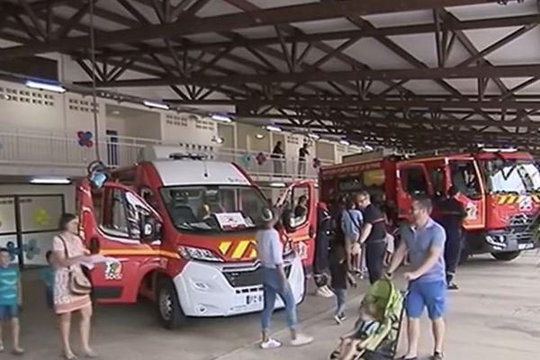 Journée portes ouvertes des sapeurs pompiers de Rémire- Montjoly