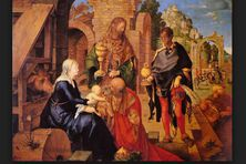 Les trois rois mages, par Albrecht Dürer