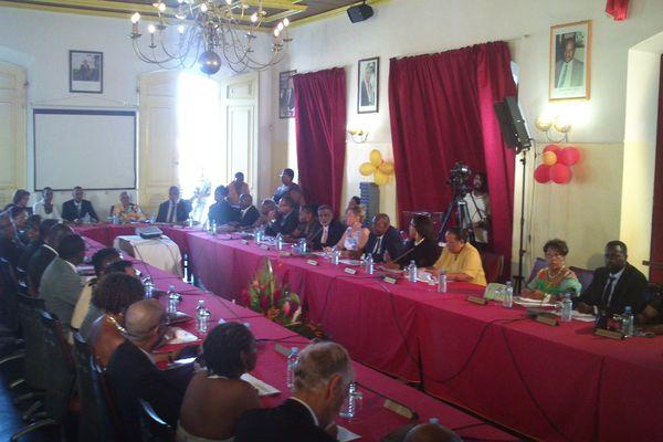 Election maire de Cayenne 2014