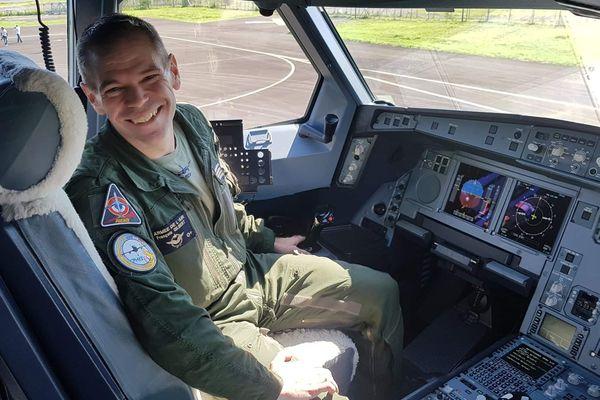 Commandant de bord de l' A330 MRTT Phenix, François Gilbert a piloté l'Airbus d'Istres à La Réunion