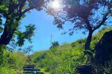 Comme lundi, le soleil brille sur La Possession comme sur l'ensemble de l'île, dans un ciel sans nuage, ce mardi 11 mai 2021.