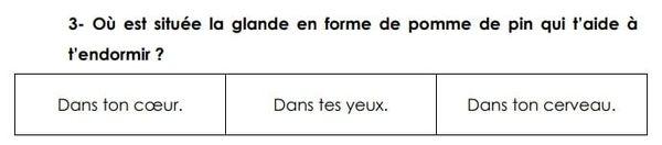 Evaluations français