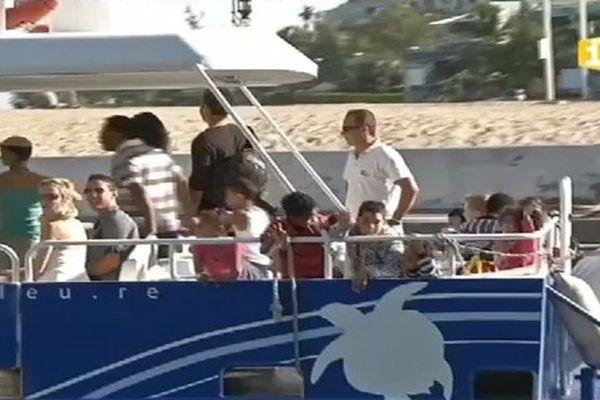 Bateau promenade mer