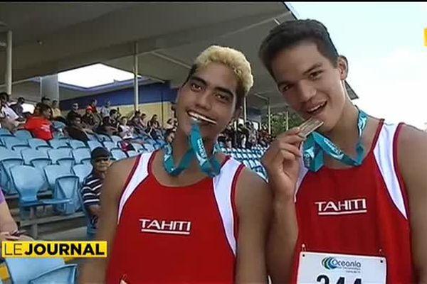 Médailles d'or pour les athlètes tahitiens à Cairns