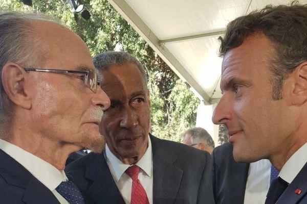 Alfred Marie Jeanne et Emmanuel Macron