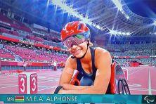 Noémie Alphonse, 25 ans, a battu quatre records d'Afrique lors des Jeux Paralympiques de Tokyo