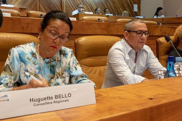 Huguette Bello, conseillère régionale.
