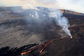 Volcan éruption de février 2019