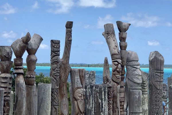 L'île des Pins, image d'illustration.