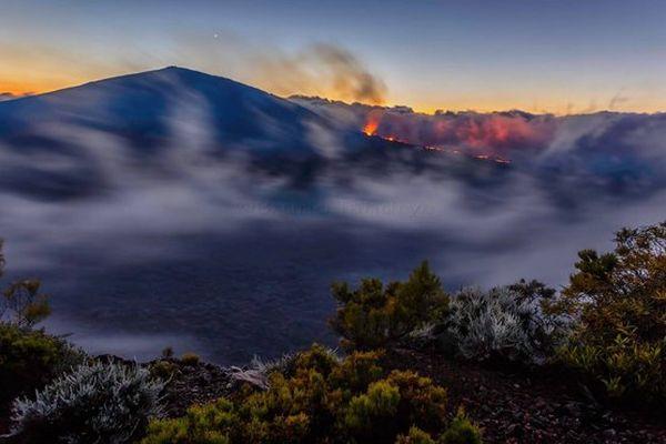 Eruption du 25 Mai 2016