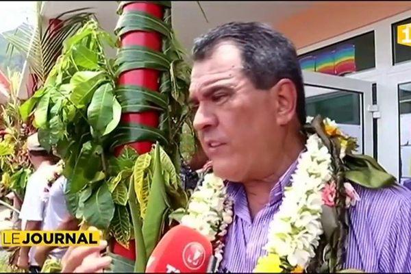 Investissements structurants de l'Etat et du Pays à Raiatea.