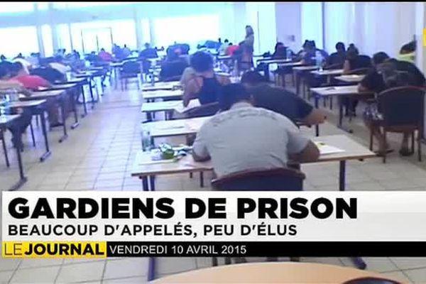 Gardiens de prison : beaucoup d'appelés, peu d'élus