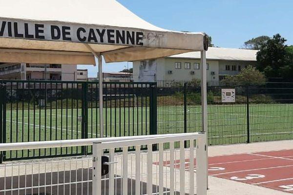Ville de Cayenne entrée stade