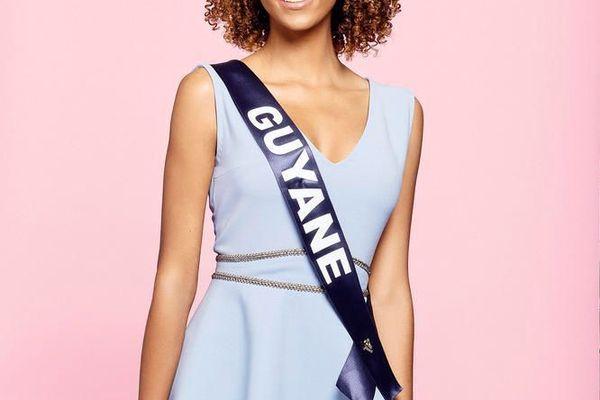 Laureline Decocq, 18 ans, Miss Guyane