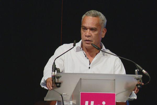Municipales : premier meeting de Willy Gatuhau, Païta, 30 janvier 2020