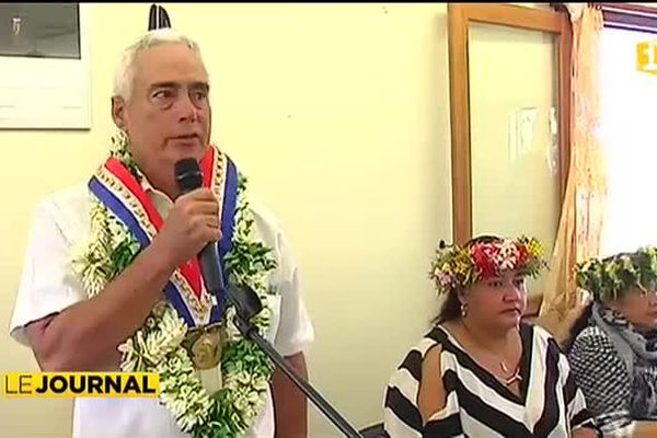 Antony Jamet élu tavana de Taiarapu Est.