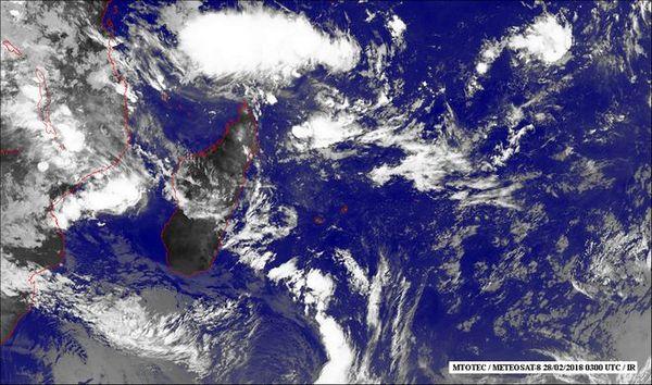image satellite 1 mars 2018