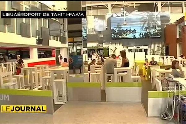 Espace restauration de l''aéroport : un nouveau design moderne et accueillant…