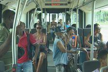 Les passagers se déclarent plutôt satisfaits depuis la mise en place des BHNS du TCSP entre Lamentin et Fort-de-France.
