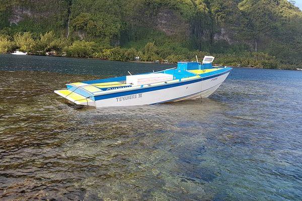 vol bateau marina pueu