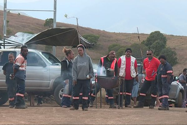 Grève à la NMC de Poya, septembre 2018