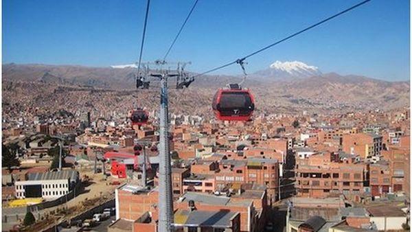 Téléphérique Bolivie