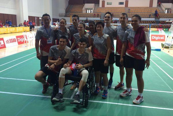 Samoa 2019, bronze pour l'équipe calédonienne de badminton