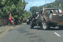 Accident sur la côte Est, un enfant blessé