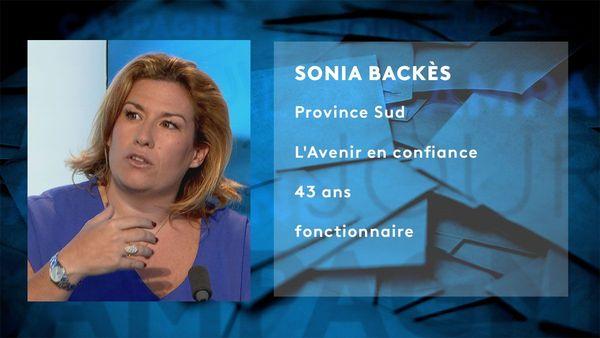 Provinciales 2019: fiche candidat de Sonia Backès
