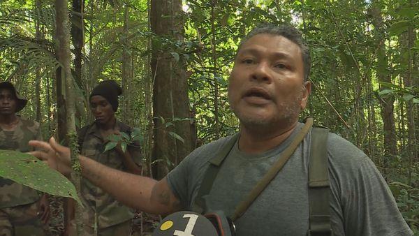 Mike Couty a été retrouvé sain et sauf mais fatigué, dans la forêt