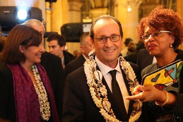 François Hollande / Dîner CREFOM
