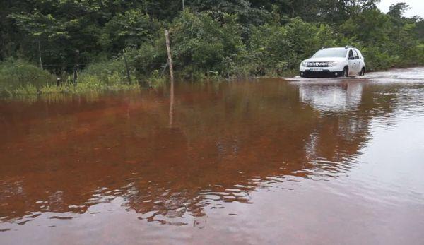 Intempéries : la piste de Nancibo à Roura coupée au pk11
