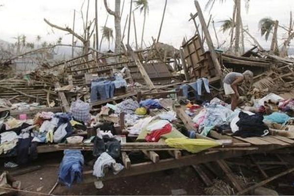 victimes Typhon Haiyan