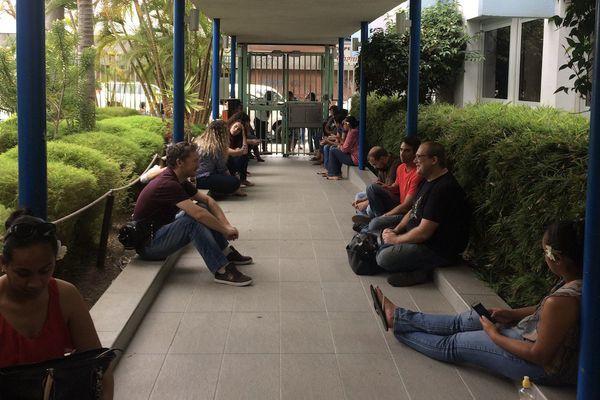 Cafat : personnel en grève