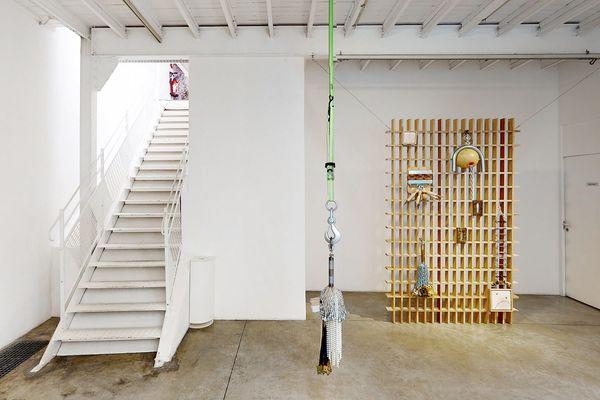 "Transferts, oeuvre de Kenny Dunkan dans l'exposition ""Keep going !"""