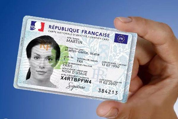 La nouvelle carte d'identité.