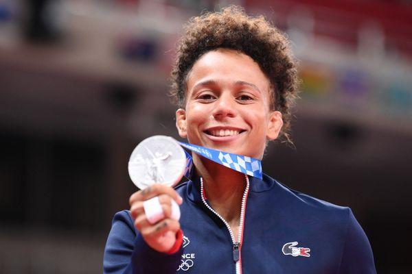 Judo : Amandine Buchard, médaillée d'argent au JO de Tokyo