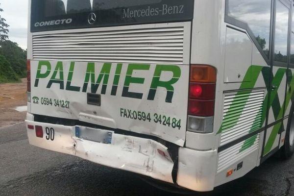 bus scolaire accidenté