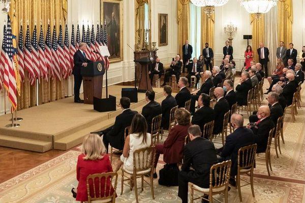 Maison Blanche Donald Trump