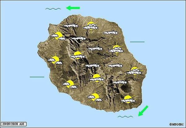Carte météo 29 septembre 2020