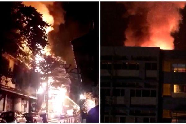 Incendie rue Peynier 7 février 2019
