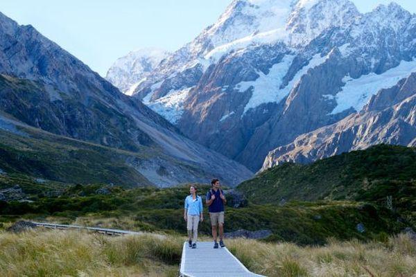 Mont Cook en Nouvelle Zélande