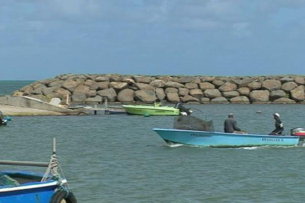 Le retour des pêcheurs de Sainte Rose