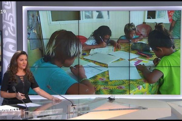 La continuité pédagogique s'applique jusque dans les secteurs les plus isolés de Tahiti