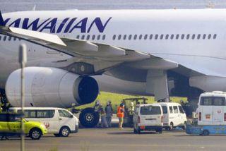 Japon : contraint d'atterrir, les pneus de l'avion d'Hawaiian airlines éclatent