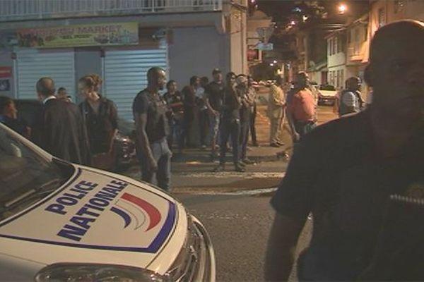 Opération de police