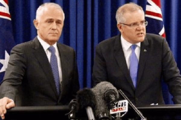 Turnbull et Morrison. Australie