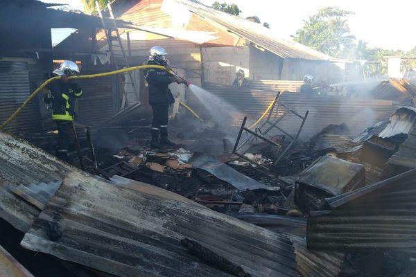 Incendie dans un squat de la zone Collery