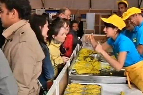 10 apprentis Réunionnais à la fête du pain à paris